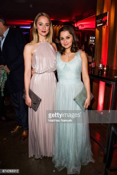 AnneCatrin Maerzke and Sarah Alles attend the New Faces Award Film at Haus Ungarn on April 27 2017 in Berlin Germany