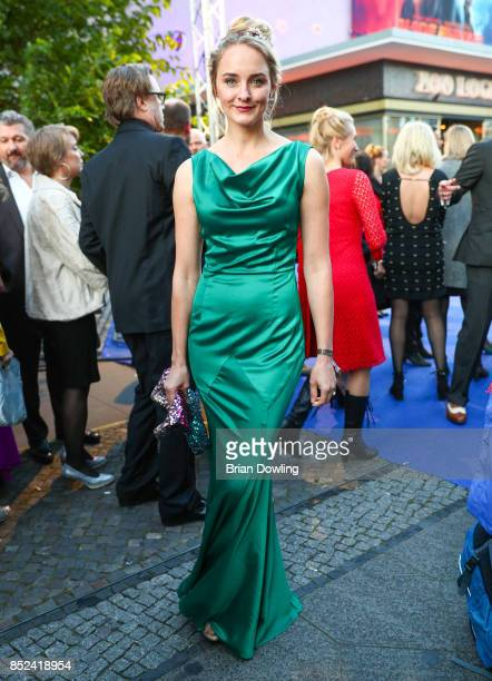 AnneCatrin Maerzke arrives at the 6th German Actor Award Ceremony at Zoo Palast on September 22 2017