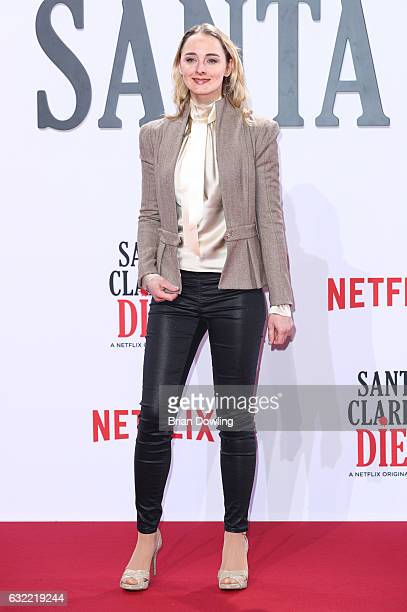 AnneCatrin Maerzke arrives at the premiere of Netflix's Santa Clarita Diet at CineStar on January 20 2017 in Berlin Germany