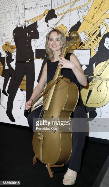 AnneCatrin Maerzke attends Moet Chandon Grand Scores 2017 at Umspannwerk on February 2 2017 in Berlin Germany
