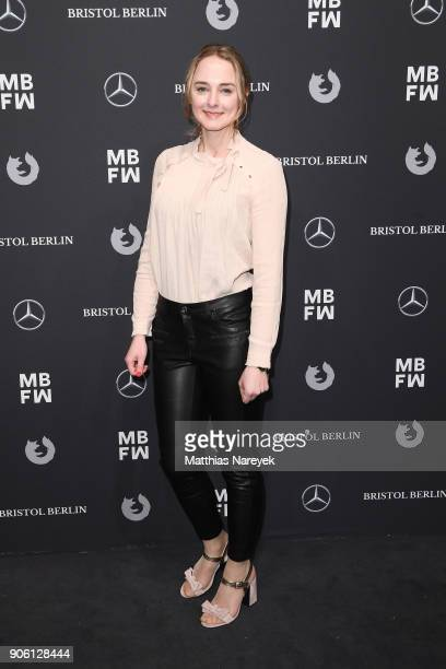 AnneCatrin Maerzke attends the Bogner show during the MBFW Berlin January 2018 at ewerk on January 17 2018 in Berlin Germany