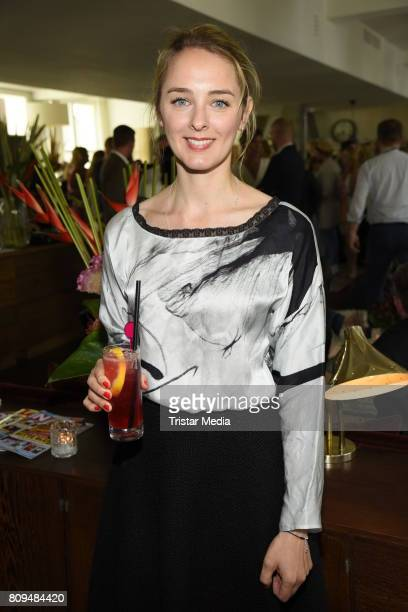 AnneCatrin Maerzke attends the Klambt Fashion Cocktail in Berlin at Soho House on July 5 2017 in Berlin Germany