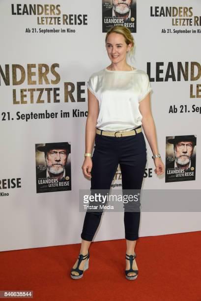 Anne-Catrin Maerzke attends the 'Leanders Letzte Reise' Premiere at Kino in der Kulturbrauerei on September 13, 2017 in Berlin, Germany.