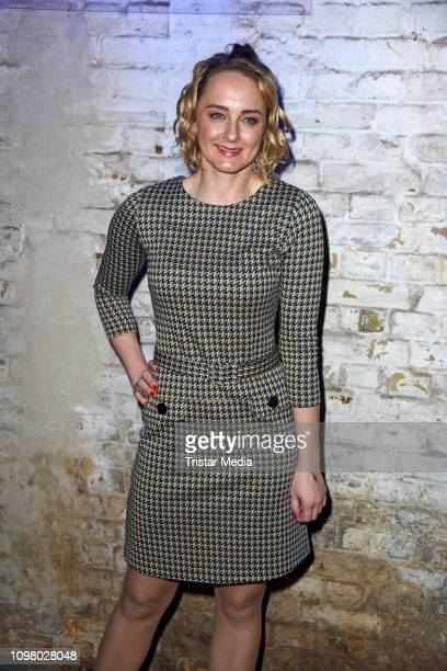 Anne-Catrin Maerzke attends the Pantaflix Pantaparty during 69th Berlinale International Film Festival at Alte Muenze on February 11, 2019 in Berlin,...