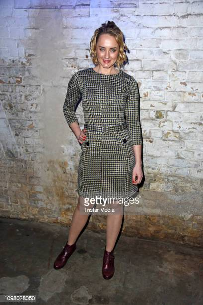 AnneCatrin Maerzke attends the Pantaflix Pantaparty during 69th Berlinale International Film Festival at Alte Muenze on February 11 2019 in Berlin...