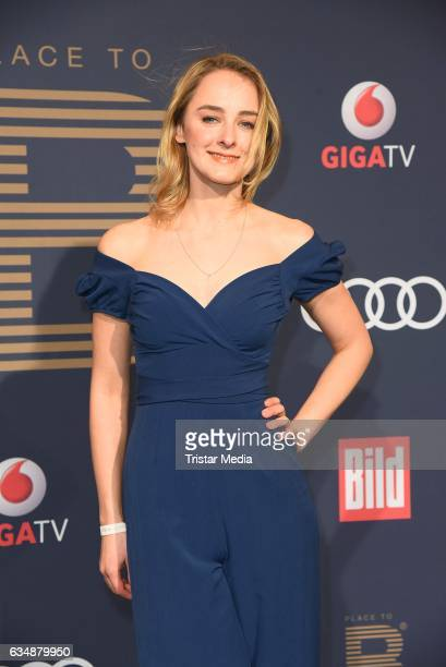 Anne-Catrin Maerzke attends the PLACE TO B Party at Borchardt on February 11, 2017 in Berlin, Germany.