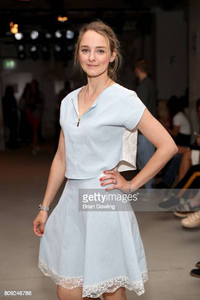 AnneCatrin Maerzke attends the Rebekka Ruetz show during the MercedesBenz Fashion Week Berlin Spring/Summer 2018 at Kaufhaus Jandorf on July 5 2017...