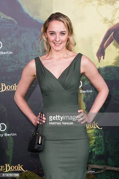 AnneCatrin Maerzke attends the 'The Jungle book' German Premiere on April 5 2016 in Berlin Germany