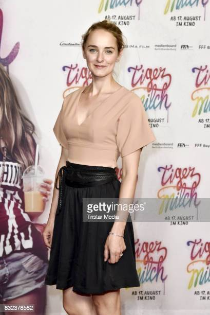 AnneCatrin Maerzke attends the 'Tigermilch' Premiere at Kino in der Kulturbrauerei on August 15 2017 in Berlin Germany