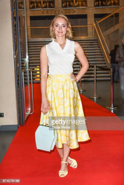 Anne-Catrin Maerzke during the premiere of 'Justice' at Kino in der Kulturbrauerei on June 13, 2018 in Berlin, Germany.