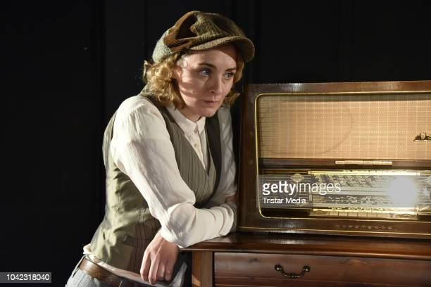 Anne-Catrin Maerzke during the rehearsal for the play 'Empfaenger unbekannt' at Theater Unterm Dach on September 26, 2018 in Berlin, Germany.