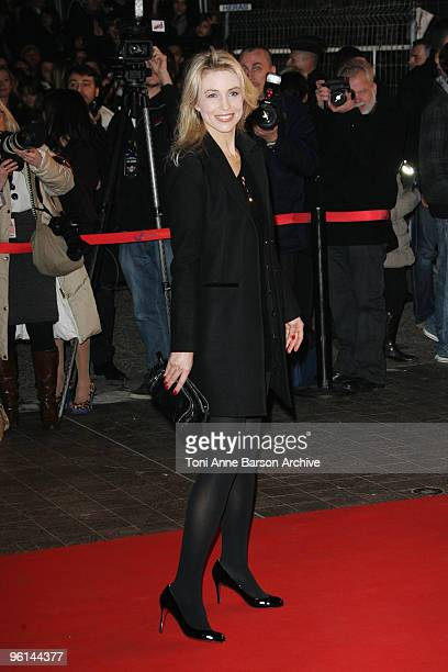 AnneCharlotte Pontabry aka Cachou arrives at NRJ Music Awards at the Palais des Festivals on January 23 2010 in Cannes France