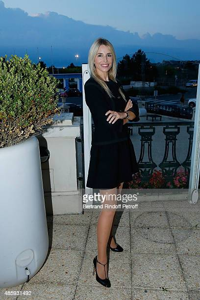 AnneCharlotte Pontabry attend the Grand Bal de Deauville For Care France Association with Dior in Casino Barriere de Deauville on August 29 2015 in...