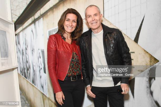 AnneClaire Coudray and JeanClaude Jitrois attend The Aspern Papers Premiere at Maison Europeenne de la Photographie on February 05 2019 in Paris...