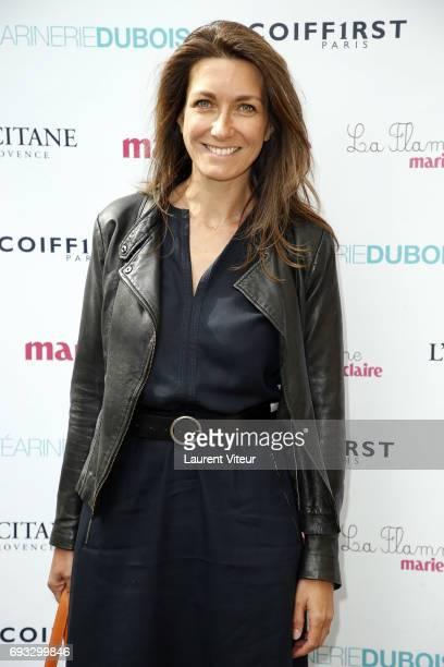 AnneClaire Coudray attends 'la Flamme MarieClaire Toutes a l'Ecole' at Hotel FranceAmerique on June 7 2017 in Paris France
