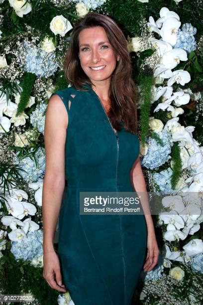 AnneClaire Coudray attends the 16th Sidaction as part of Paris Fashion Week on January 25 2018 in Paris France