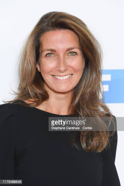 AnneClaire Coudray attends the Groupe TF1 Photocall At Palais De Tokyo on September 09 2019 in Paris France