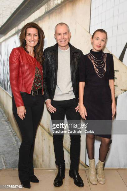 AnneClaire Coudray JeanClaude Jitrois and Alice Aufray attend 'The Aspern Papers' Premiere at Maison Europeenne de la Photographie on February 05...