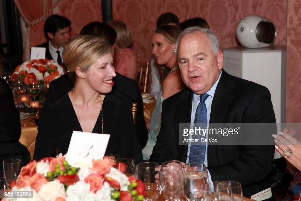 AnneClaire Legendre and Kenneth Buckfire attend the Launch of the Paris Opera 350th Anniversary in New York with the American Friends of the Paris...