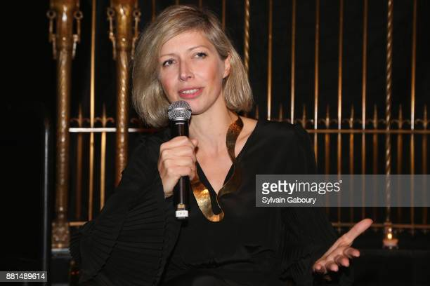 AnneClaire Legendre attends French American Foundation Annual Gala 2017 at Gotham Hall on November 28 2017 in New York City