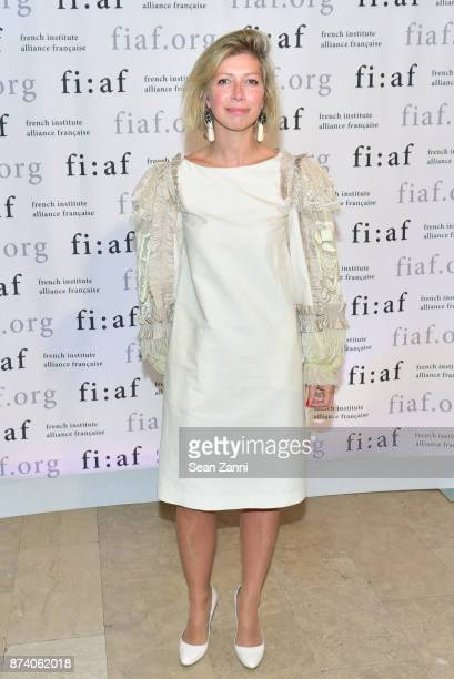 AnneClaire Legendre attends Sidney Toledano and Peter Marino being honored at French Institute Alliance Francaise's Trophee des Arts Gala at The...