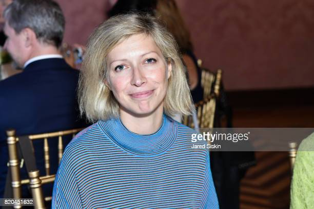 AnneClaire Legendre Consul General of France in New York attends the American Friends of the Paris Opera Ballet Luncheon in honor of the Paris Opera...