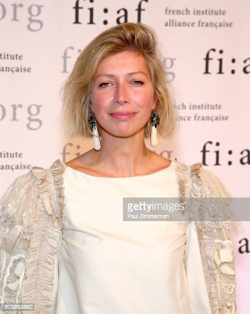 AnneClaire Legendre Consul General of France in New York attends the 2017 Trophee Des Arts Awards Gala at The Plaza Hotel on November 13 2017 in New...