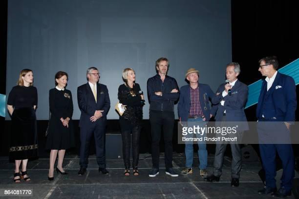 AnneClaire Schmitz Daniele Ricard President of the Ricard Foundation Philippe Savinel Director of the Ricard Foundation Colette Barbier owner of...