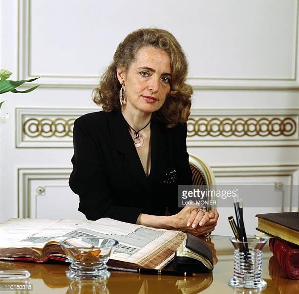 AnneClaire TaittingerBonnemaison in France in September 1996