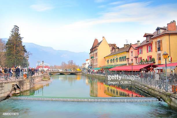 Annecy ville en France