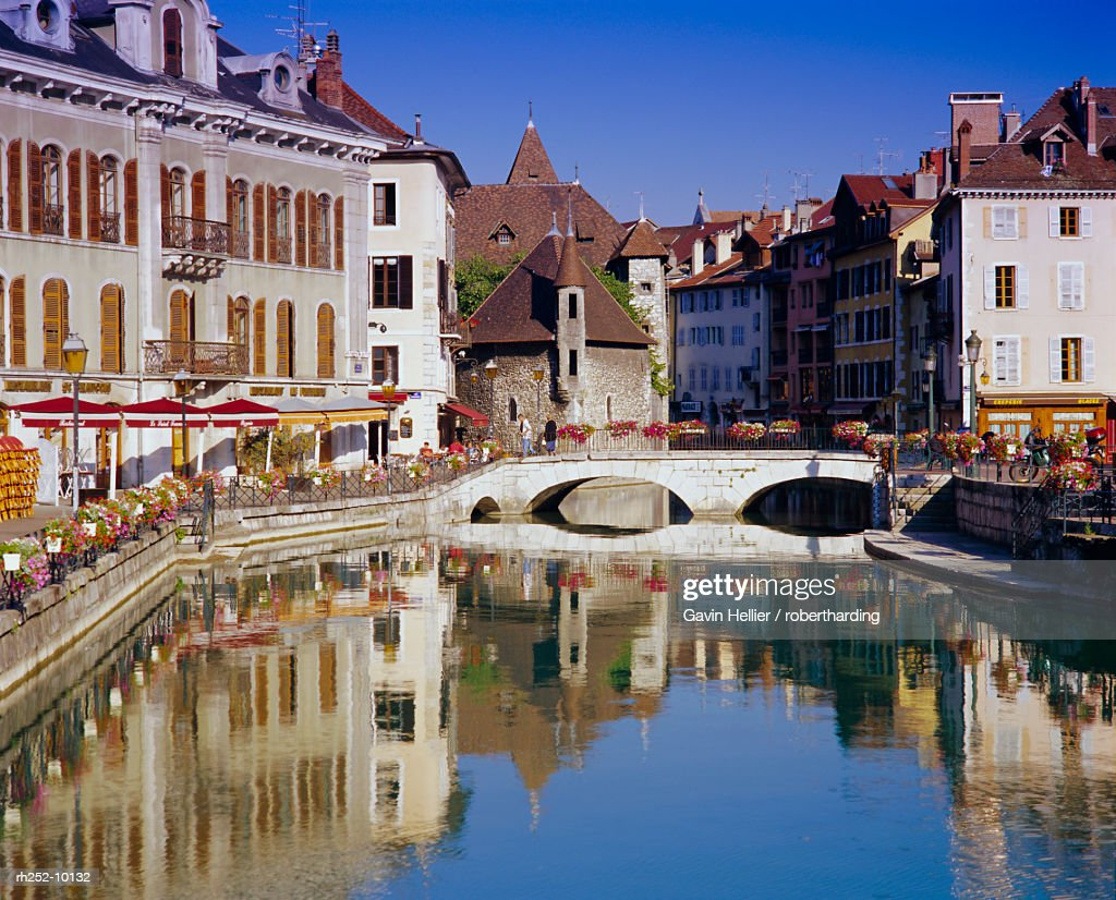 Annecy, Haute Savoie, Rhone Alpes, France, Europe : Foto de stock