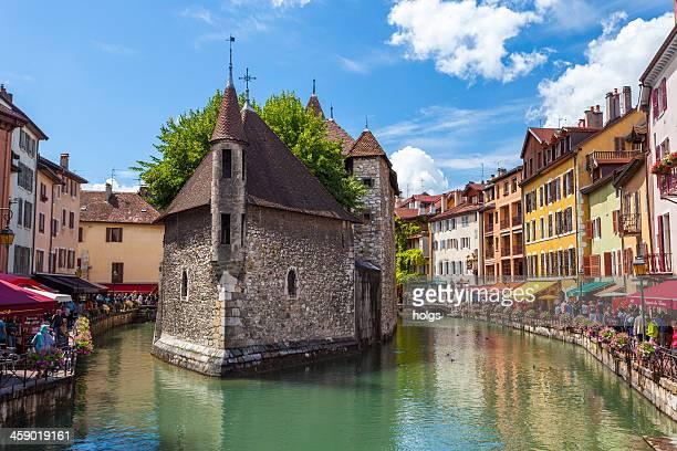 Annecy Riverfront cafés et Bars, en France