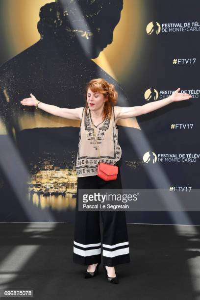 AnneElisabeth Blateau attends a photocall during the 57th Monte Carlo TV Festival Day 2 on June 17 2017 in MonteCarlo Monaco