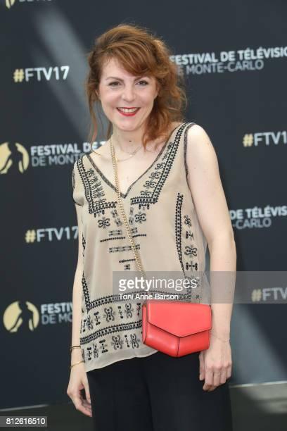 AnneElisabeth Blateau attends photocall for 'Scenes de Menages' on June 17 2017 at the Grimaldi Forum in MonteCarlo Monaco