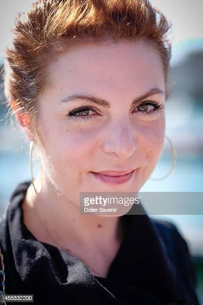 AnneElisabeth Blateau attends the photocall of 'Scenes De Menage' as part of 16th Festival of TV Fiction of La Rochelle on September 12 2014 in La...