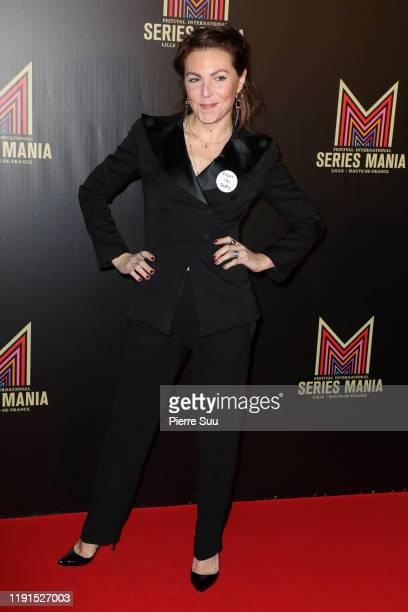 AnneElisabeth Blateau attends the Serie Mania photocall at Musee Des Arts Forains on December 02 2019 in Paris France