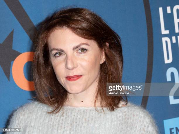 AnneElisabeth Blateau attends the third day of the 23rd L'Alpe D'Huez International Comedy Film festival on January 16 2020 in Alpe d'Huez France