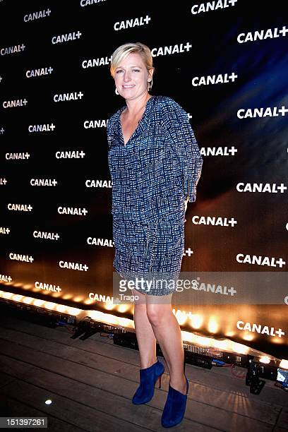 AnneElisabeth Lemoine attends the Canal New Season Celebration Party on September 6 2012 in Paris France