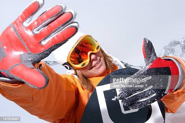 AnneFlore Marxer Pro Snowboarder for Burton Rookie Team Europe