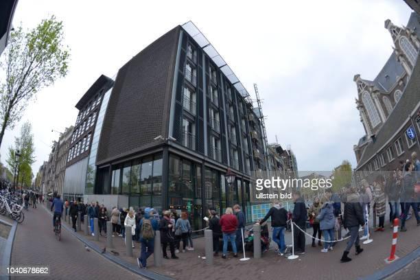 AnneFrankHaus Prinsengracht Amsterdam Niederlande