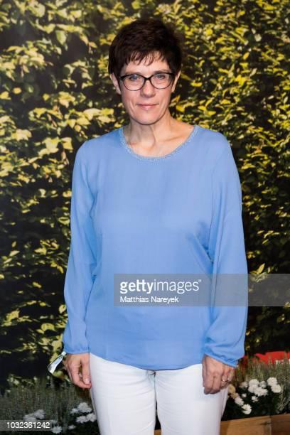 Annegret KrampKarrenbauer attends the BILD100 event on September 12 2018 in Berlin Germany