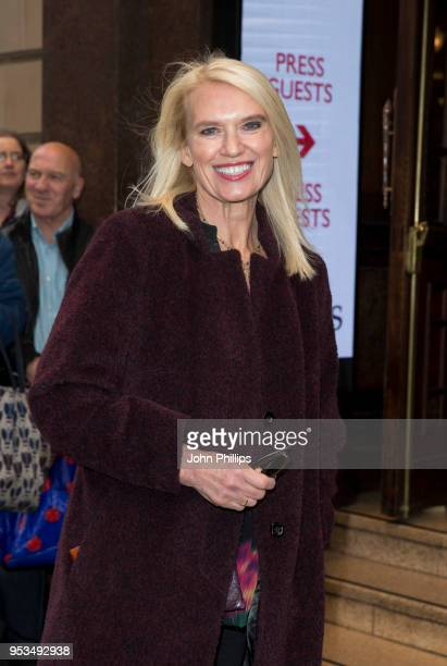 Anneka Rice attends Chess The Musical press night at London Coliseum on May 1 2018 in London England