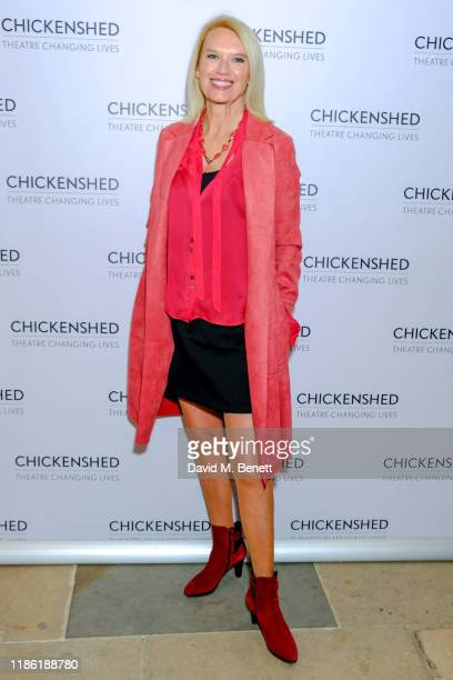 Anneka Rice attends Chickenshed's A Night For Dreamers fundraiser at Kensington Palace on November 07 2019 in London England