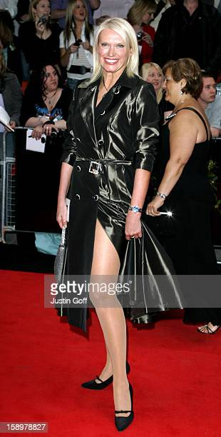 Anneka Rice Attends The 2006 British Academy Television Awards At London'S Grosvenor House Hotel