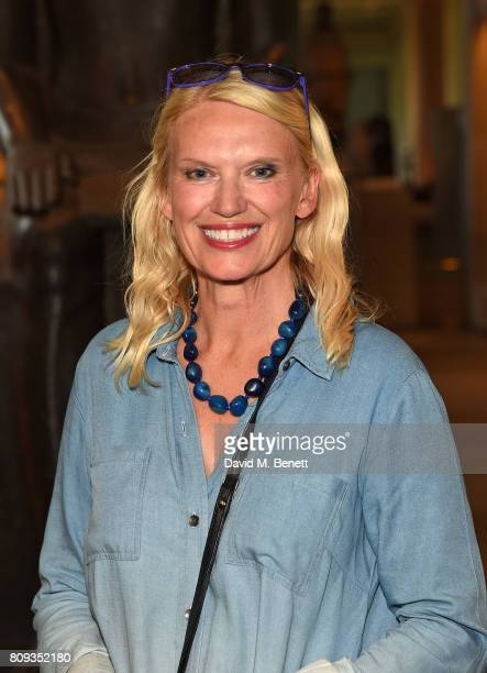 Anneka Rice attends the Art Fund Museum Of The Year drinks reception at The British Museum on July 5 2017 in London England
