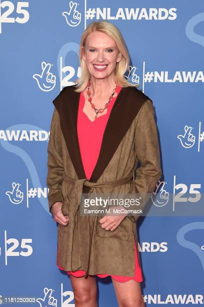 Anneka Rice attends the BBC1's National Lottery Awards 2019 at BBC Television Centre on October 15 2019 in London England