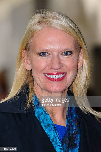 Anneka Rice attends the Children in Need Gala Lunch at The Savoy Hotel on October 27 2013 in London England