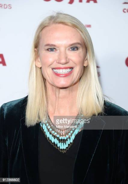 Anneka Rice attends the 'Costa Book Awards' 2018 at Quaglinoâ™s on January 30 2018 in London Englan