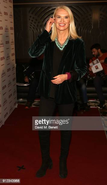 Anneka Rice attends the Costa Book Awards at Quaglino's on January 30 2018 in London England