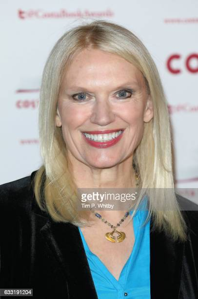 Anneka Rice attends the Costa Book Of The Year Award 2016 at Quaglino's on January 31 2017 in London United Kingdom